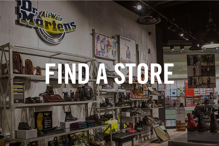 Dr. Martens Store Finder | Dr. Martens | Leather Boots