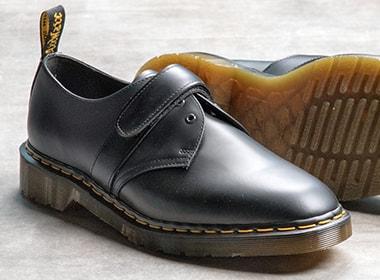 + Dr Martens Leather Derby Shoes - BlackEngineered Garments llI9iQAt4
