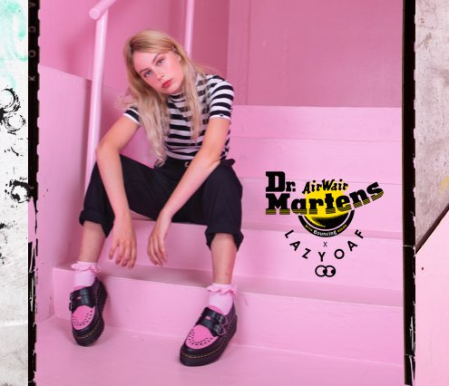 Lazy Oaf X Dr Martens creepers, boots and sandals | Dr