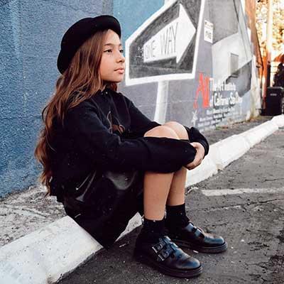Black 1460 Patent Boots