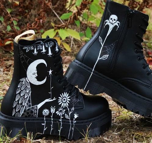 Martens et France accessoires en Bootschaussures cuirDr TlKJFc1
