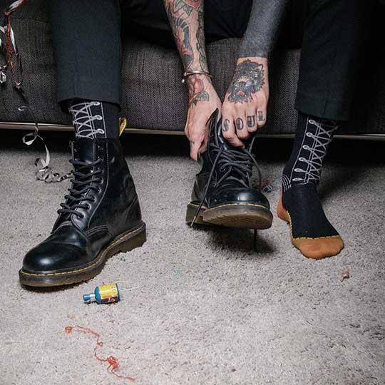 Black 1460 Boots