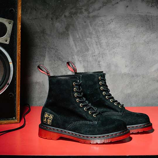 Chinese New Year Boots