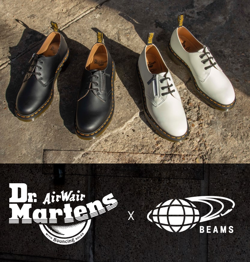 Beams x Dr. Martens 1461 Zip Derbys