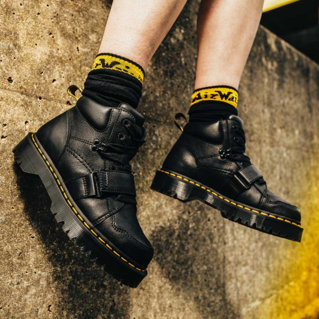 Dr Martens Schuhe Leder Stiefel Boots gr 38 in 36039 Fulda