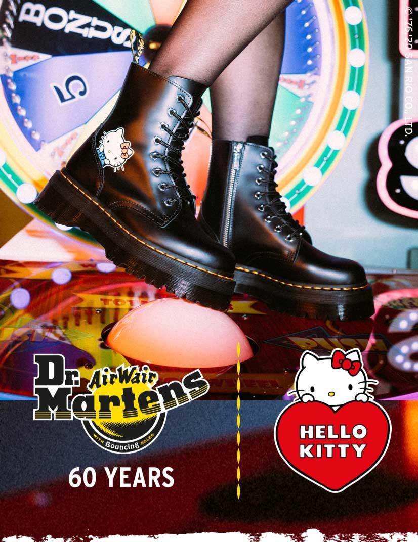 Dr. Martens Sandales Vegan Hello Kitty Sandales