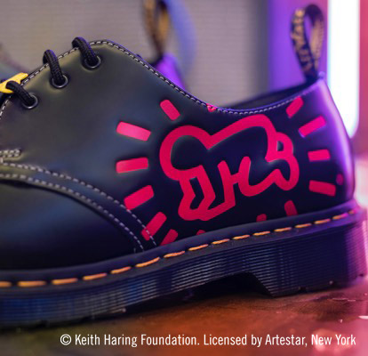 DM's x KEITH HARING