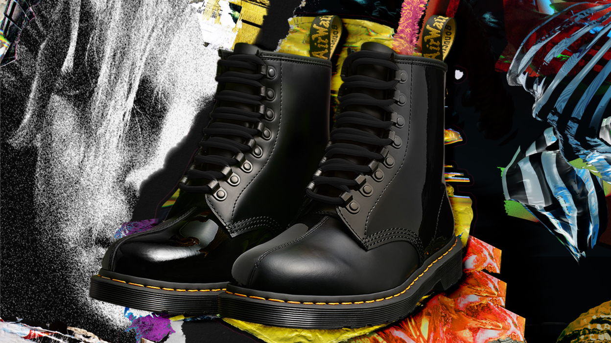 the who x dr martens