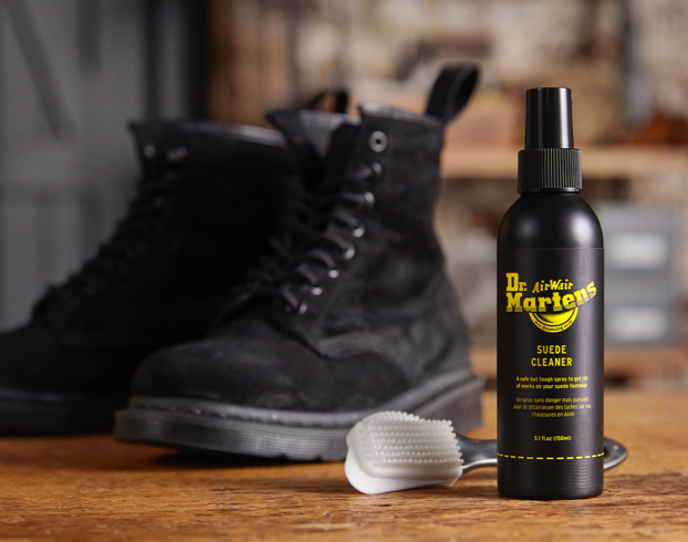 How to Clean Suede Dr. Martens Footwear